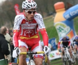 Jan Denuwelaere rode well to place seventh.  ? Bart Hazen