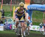 Kenneth Van Compernolle finished third in Gieten. ? Bart Hazen