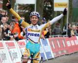 Meeusen takes the win. ? Bart Hazen