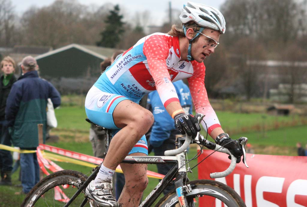 Szcepaniak rode a surprising race to finish second. ? Bart Hazen