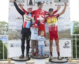 Powers, Heule and Field on the podium. ©2011 Laura B. Kozlowski.
