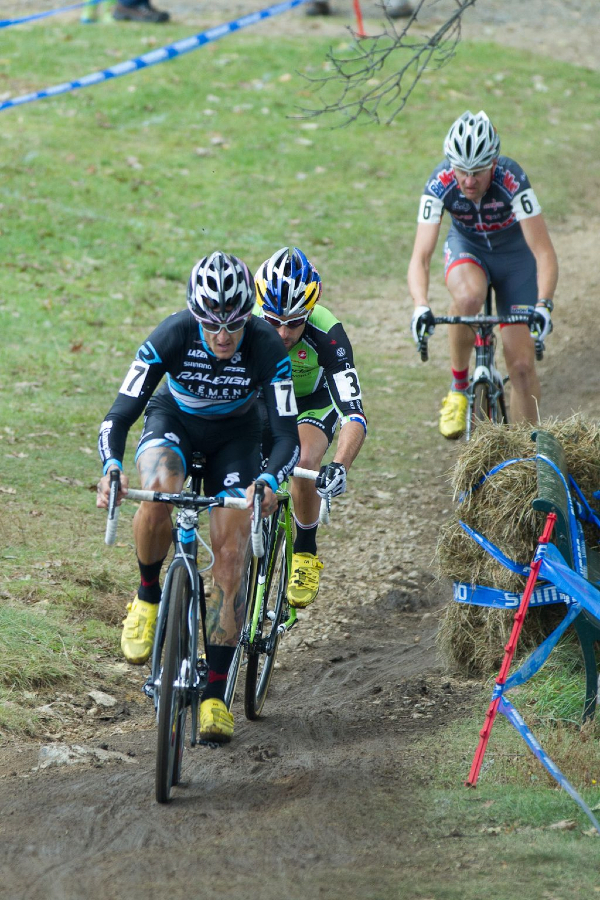 Berden, Johnson, and Bazin early in the race © Todd Prekaskigpcx_day_1-776