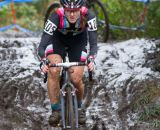 Gabby Day on the mud chute, followed by teammate Krasniak © Todd Prekaski