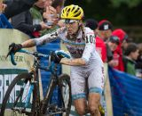 Mo Bruno Roy enjoys muddy races and finished fourth today © Todd Prekaski