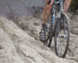 Riders faced thick, loose sand on the beach © Todd Prekaski