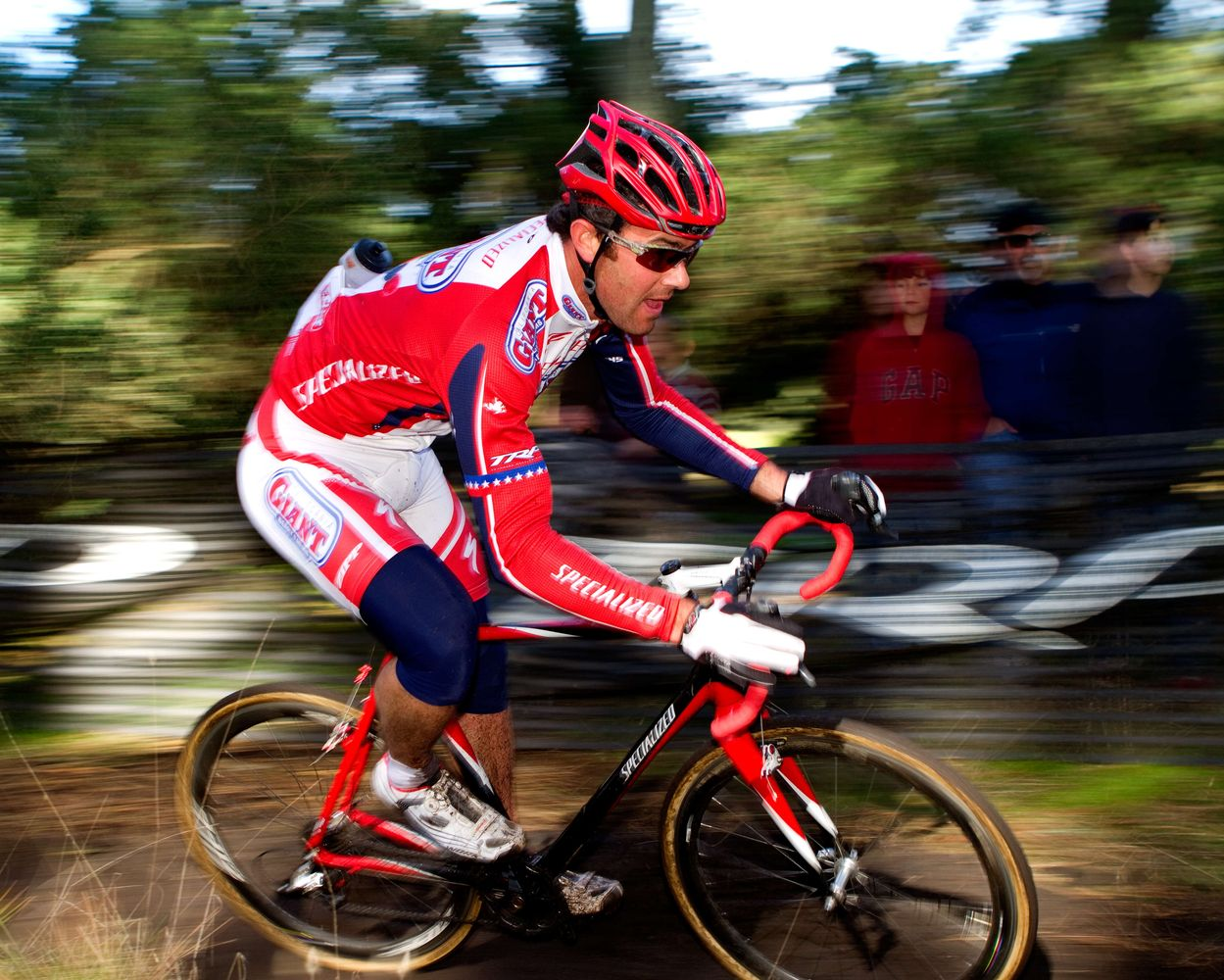 Justin Robinson is always a contender at Golden Gate Park and finished second. © Tim Westmore