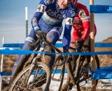 Rolf Warmuth in the men's 50-54 race at 2014 USA Cyclocross National Championships. © Mike Albright
