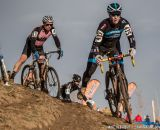 Jeffrey Unruh in the men's 50-54 race at 2014 USA Cyclocross National Championships. © Mike Albright