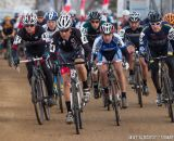 The start in the men's 50-54 race at 2014 USA Cyclocross National Championships. © Mike Albright