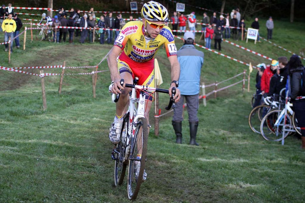 Vinnie Braet was the top U23 rider in Contern. © Bart Hazen