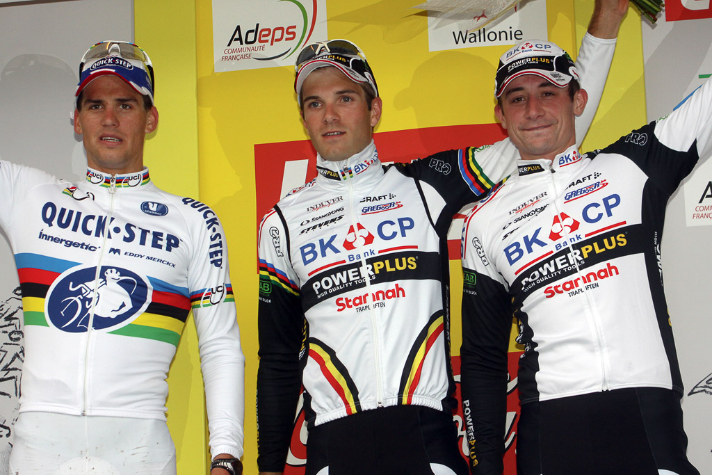 Stybar, Albert and Simunek. ©Bart Hazen