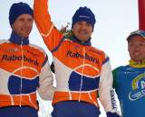 The elite podium at the GP Groenendaal.  ? Bart Hazen