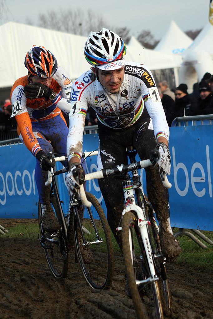 Albert had an off day with a distant third place. GP Sven Nys 2010 - Baal, Beglium. GVA Trofee Series. ? Bart Hazen