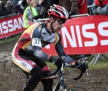 Brian Matter (Gear Grinder) was the only american finisher. GP Sven Nys 2010 - Baal, Beglium. GVA Trofee Series. ? Bart Hazen