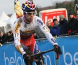 Stybar rode well again but bobbled yet again in critical moments. GP Sven Nys 2010 - Baal, Beglium. GVA Trofee Series. ? Bart Hazen
