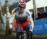 Stybar in the lead. GP Sven Nys 2010 - Baal, Beglium. GVA Trofee Series. ? Bart Hazen