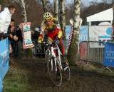 Klaas Vantornout showed he's back and in form with a fast start. GP Sven Nys 2010 - Baal, Beglium. GVA Trofee Series. ? Bart Hazen