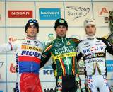 Nys, Stybar and Albert - the most common podium  this year. GP Sven Nys 2010 - Baal, Beglium. GVA Trofee Series. ? Bart Hazen