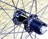 Front Hub of Grammo Tubolari CX Tubular Cyclocross Wheelset