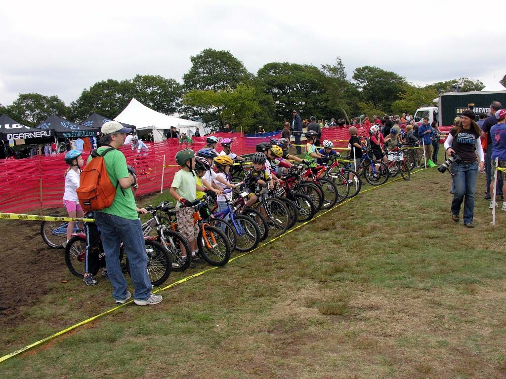 The future stars of cyclocross raced for free. ?Paul Weiss