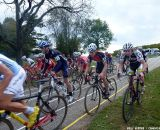 Even the back of the pack had a fast, hard start. © Cyclocross Magazine
