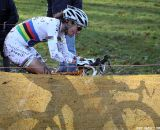 Marianne Vos is outstanding but can't beat her own shadow © Bart Hazen