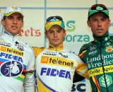 Stybar (l), Pauwels and Nys share the podium. © Bart Hazen