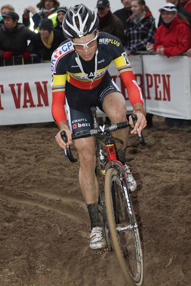 Niels Albert in his smart tricolor ©Bart Hazen