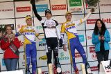 U23 Podium in the final GVA Trofee race in Oostmalle. © Bart Hazen