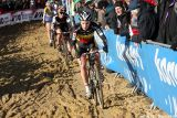 Sanne Cant in the final GVA Trofee race in Oostmalle. © Bart Hazen