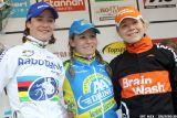 The podium in the final GVA Trofee race in Oostmalle. © Bart Hazen