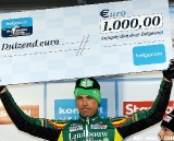 Sven Nys winner of the Belgacom fastest lap prize