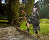 The intimidation factor at Halloween cyclocross is key. © Doug Brons