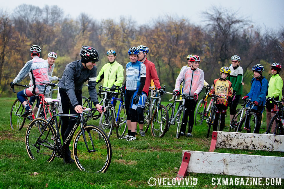 Cincy3 - Jeremy Powers Harbin Park Cyclocross Clinic