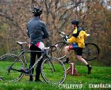 Powers supervises at the Harbin Park Cyclocross Clinic © VeloVivid