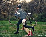 The perfect barrier at Harbin Park Cyclocross Clinic © VeloVivid