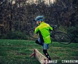 Barrier practice at the Harbin Park Cyclocross Clinic © VeloVivid