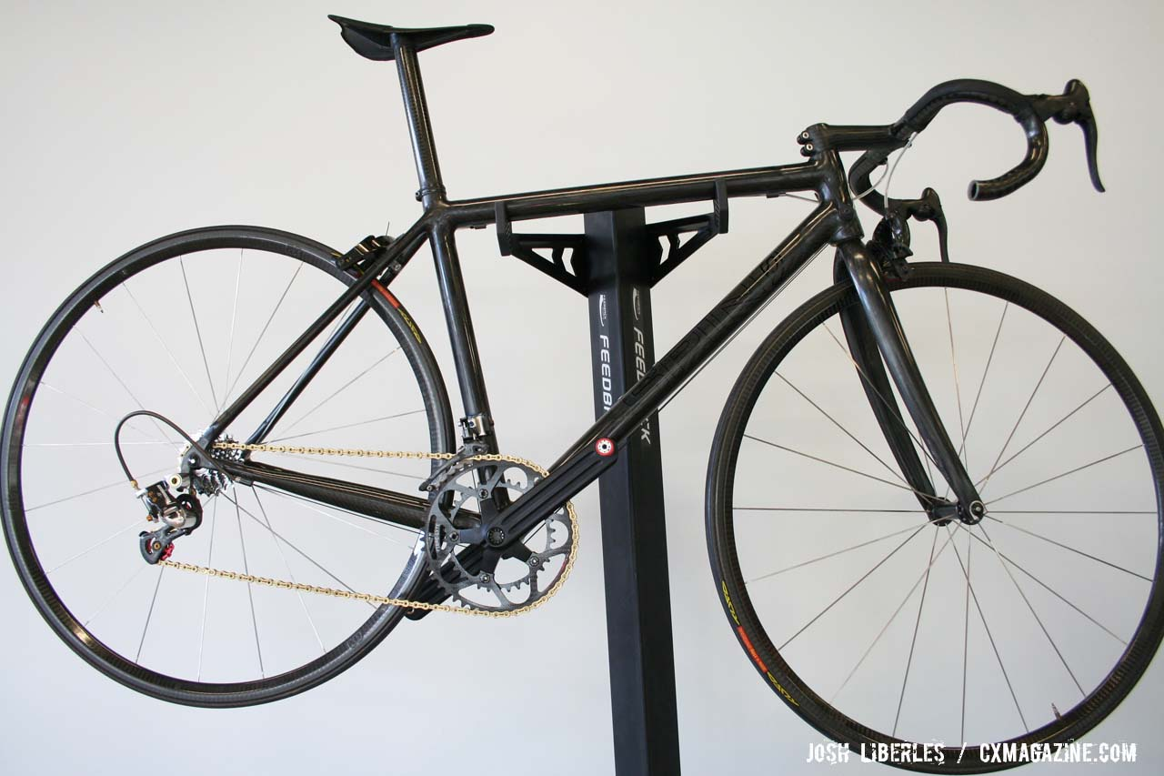 The lightest bike in the world! Spin frame anchors a 6lb complete bike ©Josh Liberles