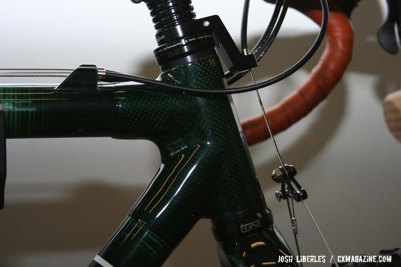 The 63.5g Tune headset is another Fairwheel-distributed product ©Josh Liberles