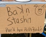 Pathfinder WV provided some of the local flavor to the race via a bacon station for finishers. © Fred Jordan