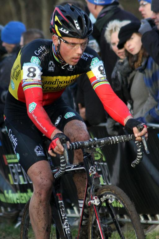 Sven Nys finished 2nd in the World Cup standings. ©Bart Hazen