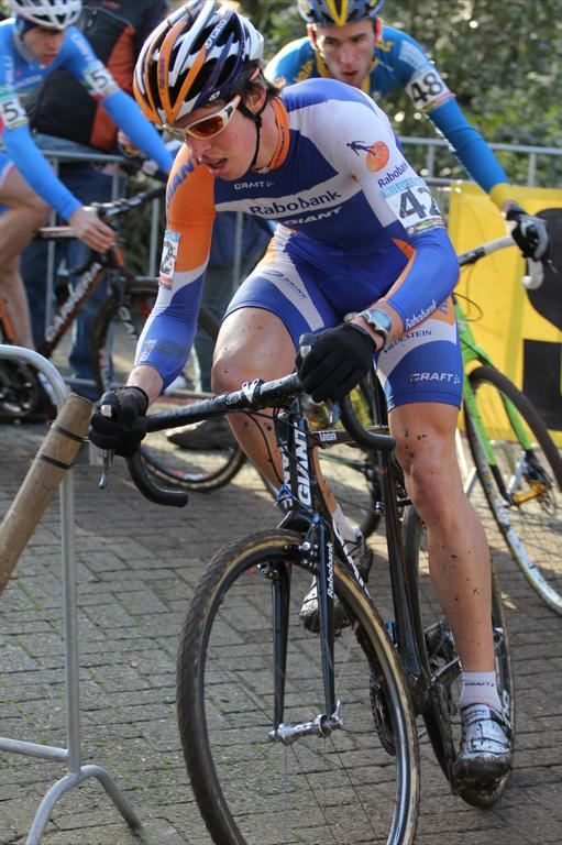 Niels Wubben (Rabobank - Giant Off-Road Team) finished 24th.© Thomas van Bracht