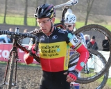 Sven Nys (Landbouwkrediet) finished 6th and slid into second on the World Cup standings. © Thomas van Bracht