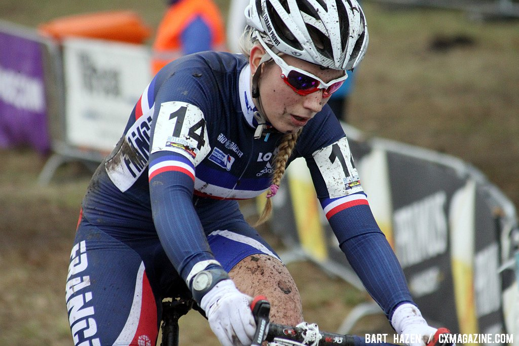 Pauline Ferrand-Prevot finished in the top 10 and is ready for the Worlds
