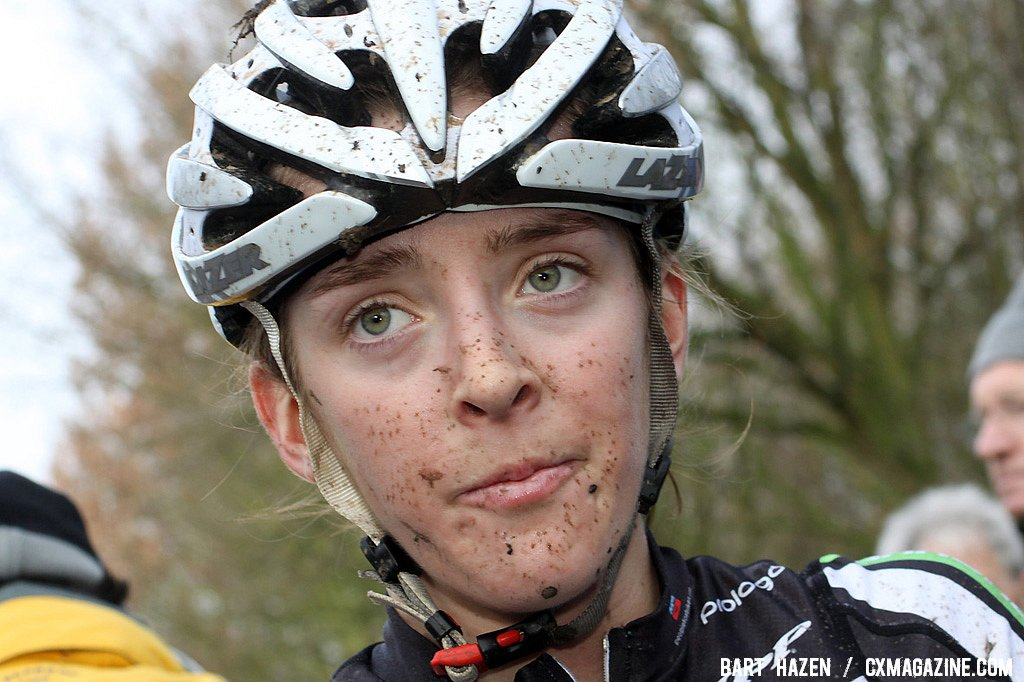 Kaitlin Antonneau competed in her first World Cup. Hoogerheide Cyclocross Word Cup 2011