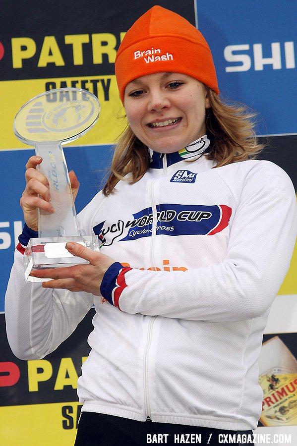 Sanne van Paassen winner of the UCI World Cup