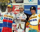 The men's podium in Hoogerheide. ? Bart Hazen