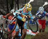 Kenneth van Compernolle finished fourth just behind Jouffroy. ? Bart Hazen