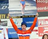 Tijmen Eising was recognized with a photo of his victory at the 2009 Worlds. ? Bart Hazen