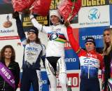 Van Den Brand (l), Vos and Van Paassen on the podium. ? Bart Hazen